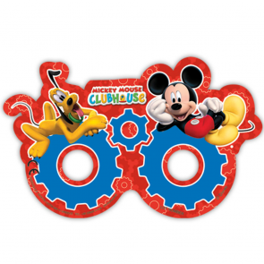 6 Die-cut masks - Playful Mickey