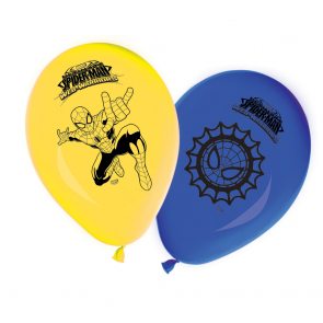 8 11 inches Printed Balloons - Ultimate Spiderman Web Warriors