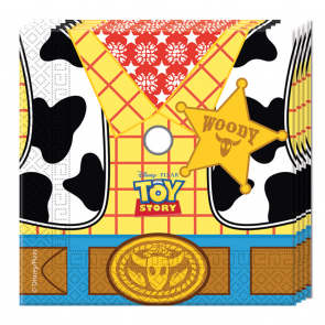 20 Two-ply Paper Napkins 33x33cm - Toy Story Star Power