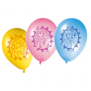 8 11 inches Printed Balloons - Princess Glamour