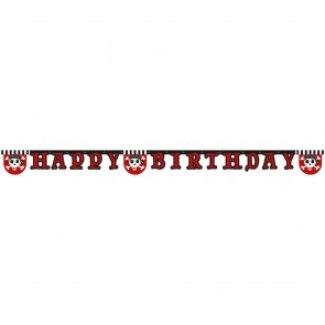 "1 Happy Birthday"" Die-cut  Banner - Pirate's Treasure Map"""