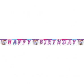 "1 Happy Birthday"" Die-cut Banner - Sofia The First"