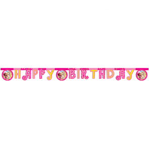 """Happy Birthday"" Die-cut  Banner - Mia & Me"