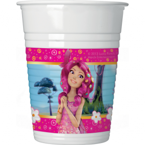 8 Plastic Cups 200 ml - Mia & Me