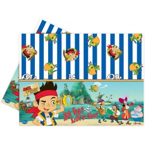 1 Plastic Tablecover 120x180cm - Captain Jake