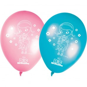 8 11 inches Printed Balloons - Doc Mc Stuffins