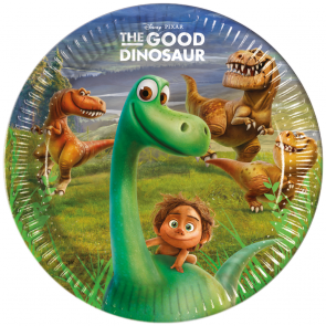 8 Paper Plates Large 23cm - The Good Dinosaur