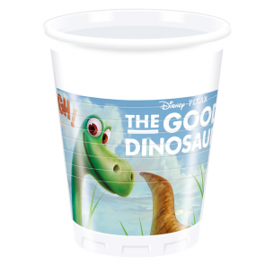8 Plastic Cups 200 ml - The Good Dinosaur