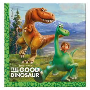 20 Two-ply Paper Napkins 33x33cm - The Good Dinosaur
