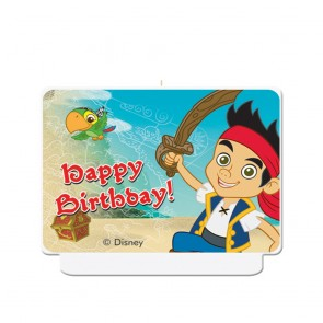 "1 Happy Birthday"" Décor Candle - Captain Jake"""