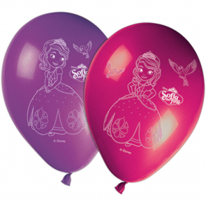 8 11 inches Printed Balloons - Sofia The First