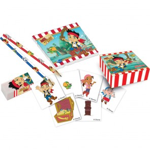 16 Stationery pack (4 pencils, 4 erasers, 4sticker boxes & 4 notebooks) - Captain Jake