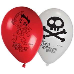 8 11 inches Printed Balloons - Jake Yo Ho