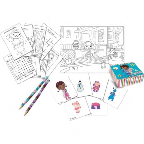16 Activity pack (4 pencils,4 sticker boxes, 4 booklets, 4 sticker sheets) - Doc Mc Stuffins