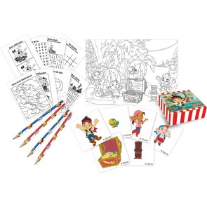 16 Activity pack (4 pencils, 4 activity booklets, 4 sticker boxes & 4 sticker sheets) - Captain Jake