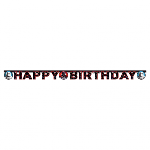 "1 ""Happy Birthday"" Die-cut Banner - Star Wars Party Favours"