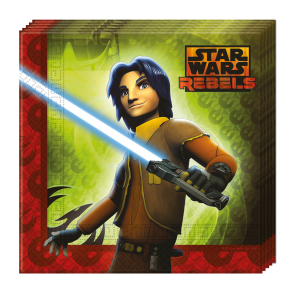 20 Two-ply Paper Napkins 33x33cm - Star Wars Rebels