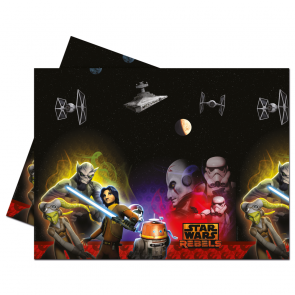 1 Plastic Tablecover 120x180cm - Star Wars Rebels