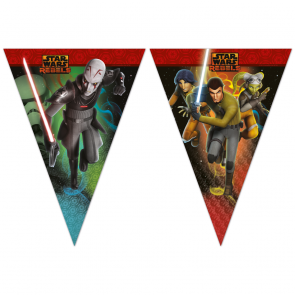 1 Triangle Flag Banner (9 flags) - Star Wars Rebels
