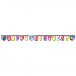 "1 Happy Birthday"" Die-cut Banner - Frozen Alpine"""