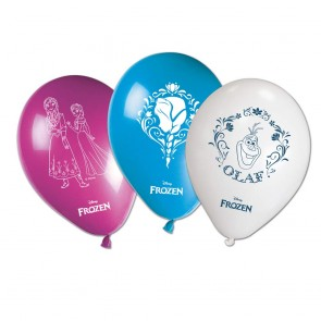 8 11 inches Printed Balloons  -  Frozen