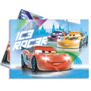 1 Plastic Tablecover 120x180cm - Cars Ice