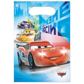 6 Party Bags - Cars Ice