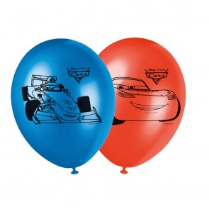 8 11 inches Printed Balloons - Cars
