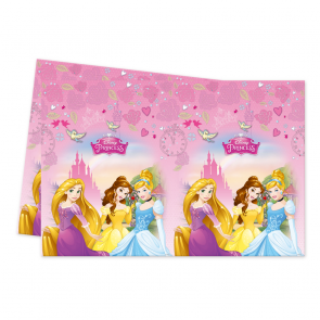 1 Plastic Tablecover 120x180cm - I'm Princess