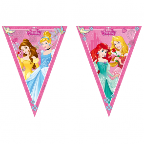 1 Triangle Flag Banner (9 flags) - Princess Dreaming