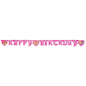 "1 Happy Birthday"" Die-cut Banner - Princess Dreaming"""