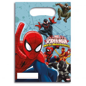 6 Party Bags - Ultimate Spiderman Web Warriors
