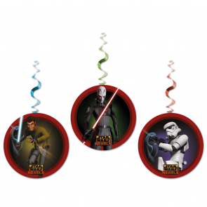 3 Dangling Cut Outs - Star Wars Rebels