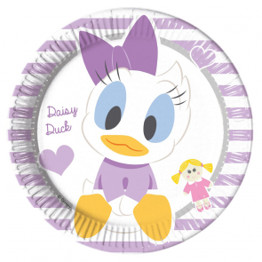 8 Paper Plates Medium 20cm - Infant Minnie
