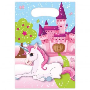 6 Party Bags - Unicorn