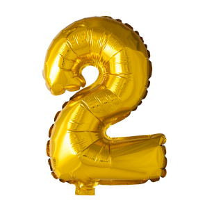 Foilballoon No. 2 , 16'' - gold