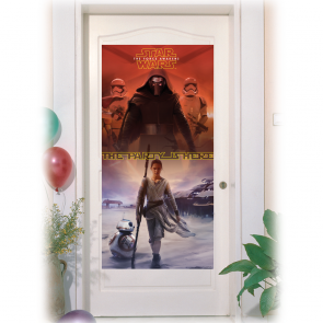 1 Door Banner - Star Wars The Force Awakens