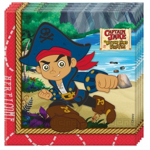 20 Two-ply paper napkins 33x33cm - Captain Jake