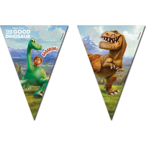 1 Triangle Flag Banner ( 9 flags ) - The Good Dinosaur