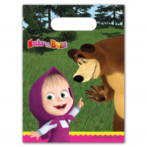 6 Party Bags - Masha and The Bear
