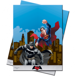 1 Plastic Tablecover 120x180cm - Batman vs Superman