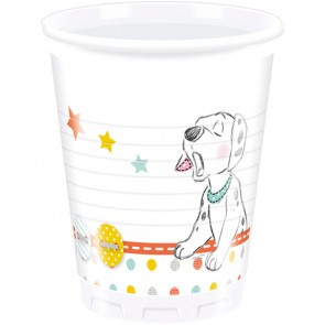 8 Plastic Cups 200 ml - Baby Shower
