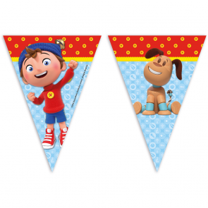 1 Triangle Flag Banner (9 Flags)  -  Noddy