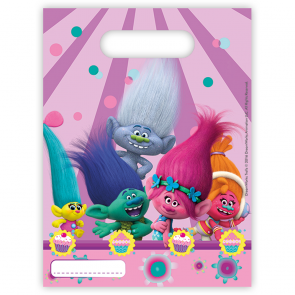 6 Party Bags - Trolls