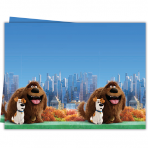 1 Plastic Tablecover 120x180cm - Secret Life of Pets