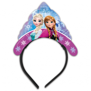 4 Die-cut Tiaras - Frozen Northern Lights