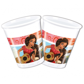 8 Plastic Cups 200 ml  -  Elena of Avalor