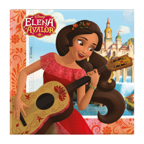 20 Two-ply Paper Napkins 33x33cm  -  Elena of Avalor