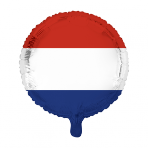 "Foilballoon round, 18""- Dutch flag"
