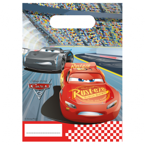 6 Party Bags  -  Cars 3